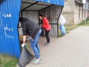 wolontariusze